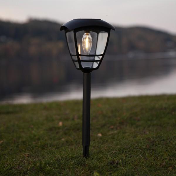LED Solar - Wegleuchte Felix - warmweiße Filament LED