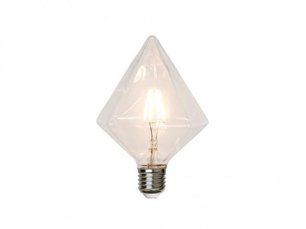 Leuchtmittel | LED | Filament | Rubin | →11,5cm x ↑16,5cm | 3,2W | E27 | 2700K | 320 Lumen | 80 Ra | Dimmbar | EEK A++