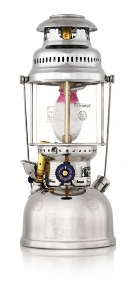 Petromax Petroleumleuchte Starklichtlampe HK500/829 Chrom