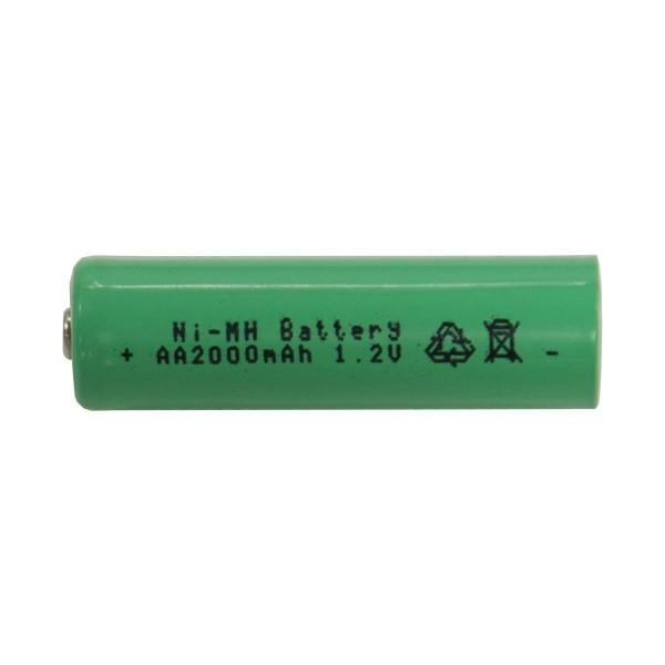 SOLAR-AKKU - Ersatzakku - 2000mAh speziell für Solarprodukte - AA Mignon - 1,2V - NiMH