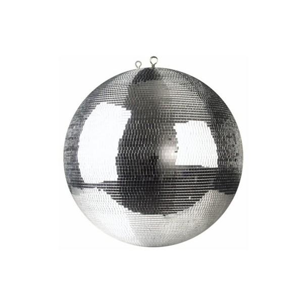 Spiegelkugel 40cm silber chrome- Diskokugel (Discokugel) Party Lichteffekt - Echtglas - mirrorball chrome silver color
