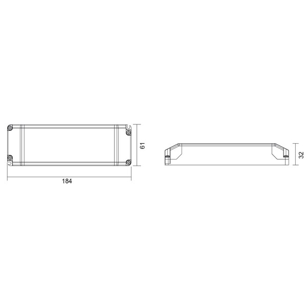 Deko-Light Netzgerät, BASIC, CV, Q3-12V-50W, spannungskonstant, 100-240V AC/50-60Hz, 12V DC, 650 mA,