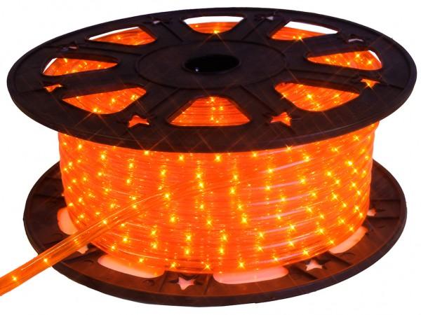 Lichtschlauch ROPELIGHT MICRO | Outdoor | 1620 Lampen | 45,00m | Kürzbar - orange