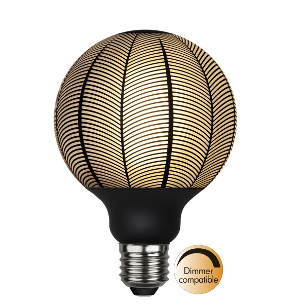 LED Leuchtmittel GRAPHIC G95 - E27 - 4W - WW 2700K - 130lm