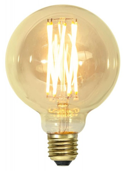 LED DEKO Leuchtmittel VINTAGE G95 - E27 - 3,7W - UWW 1800K - 240lm - dimmbar