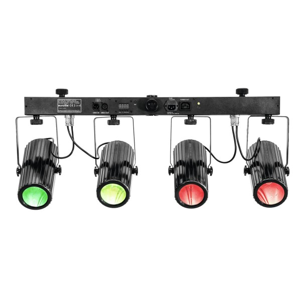 LED QDF-Bar RGBAW Lichtset