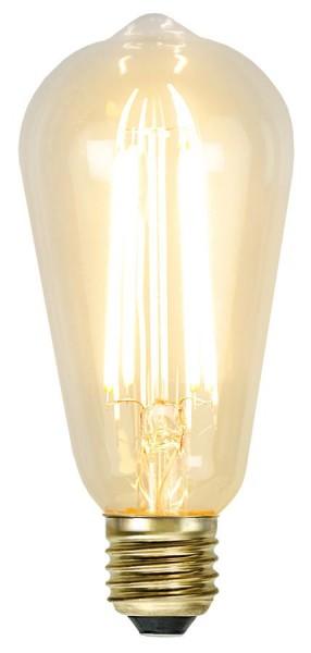 LED Leuchtmittel GLOW - ST64 - E27 - 3,6W - warmweiss 2100K - 320lm - dimmbar