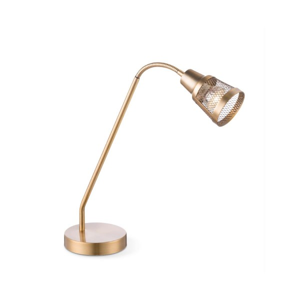 Tischleuchte SOLO - bronze vintage- GU10 Fassung - Flexibler Kopf - max 35W