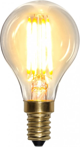 LED Leuchtmittel FILA GLOW - P45 - E14 - 4W - warmweiss 2100K - 350lm - dimmbar