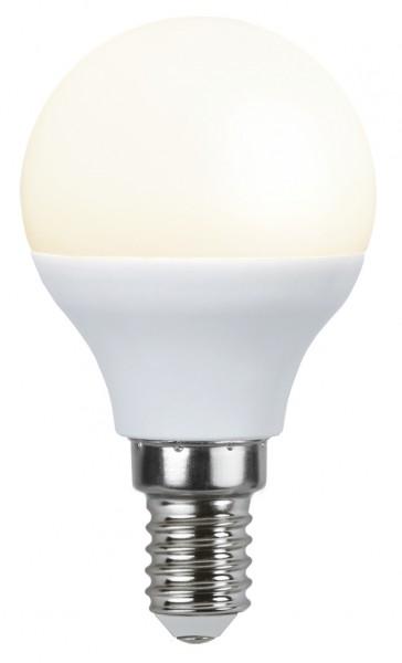 LED Tropfenampe - P45 - 3W - warmweiss 3000K - E14 - 250lm - gefrostet