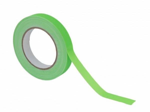 UV Gaffa Tape neongrün - 19mm x 25m - Schwarzlicht Aktives Gewebeband