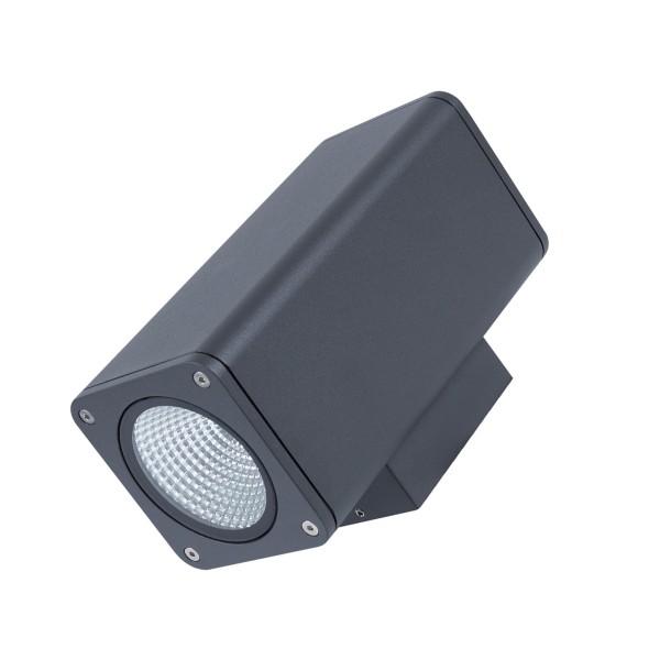 Wandleuchte TOCHO 2 - CREE COB LED - 3000K - 46° - 25W - IP54 - anthrazit - Fassadenleuchte