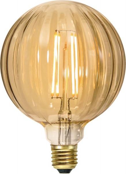 LED GLOBE FILA GLOW G125 - E27 - 2,5W - ultra-WW  2000K - 160lm - amber - dimmbar