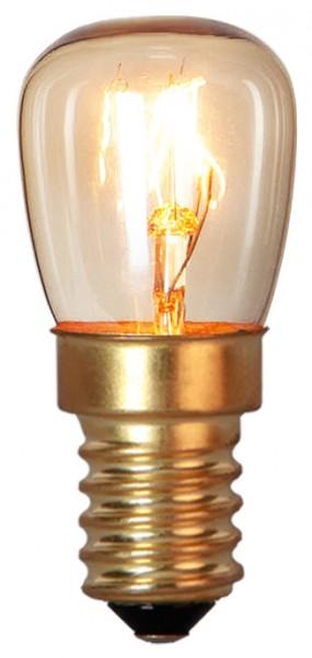 Ofenlampe E14 - 15W - hitzebeständig 300°C - dimmbar - WW 2700K - 80lm