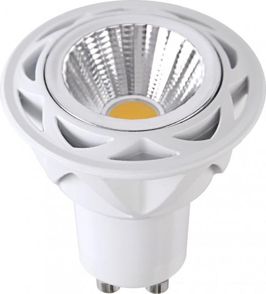 LED SPOT COB MR16 - 230V - GU10 - 36° - 7W - warmweiss 2700K - 470lm - dimmbar