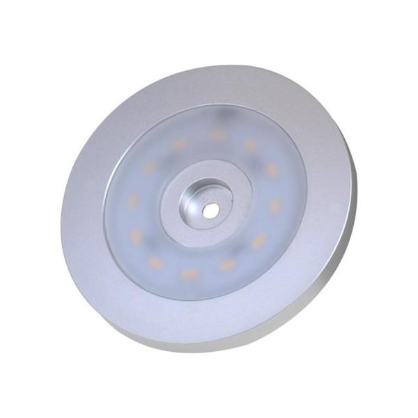Aufbauspot 12 LED 12V 240lm Ø55x5,0mm