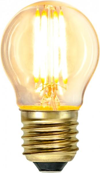 LED Leuchtmittel FILA GLOW - G45 - E27 - 4W - warmweiss 2100K - 350lm - dimmbar