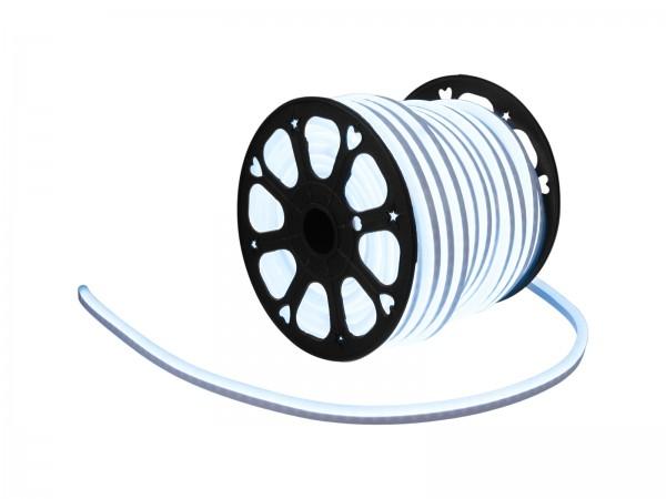 LED Lichtschlauch NEON FLEX 230V Slim - KALTWEISS - 50 Meter Rolle