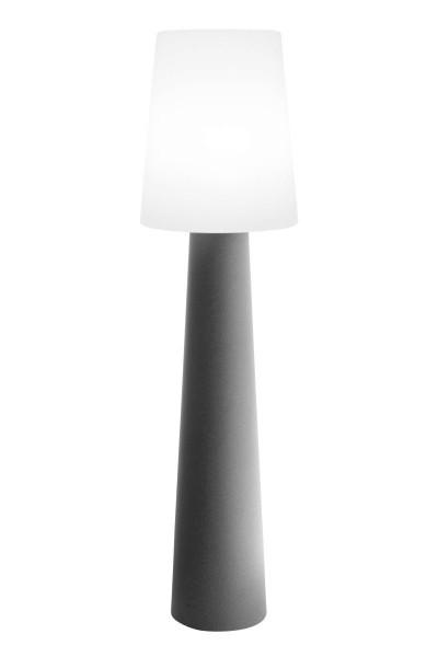 """Outdoor XL Stehlampe No. 1 """"Grau"""" H:160cm - E27 Fassung - Außenleuchte IP44"""