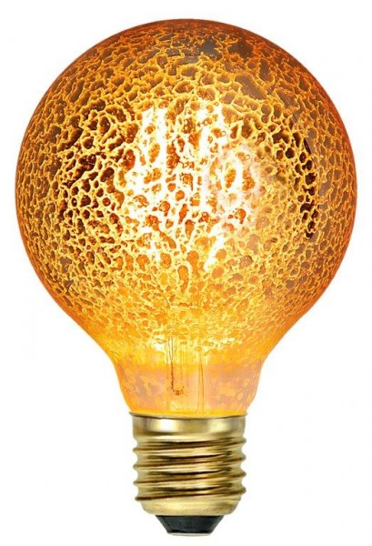 LED GLOBE FILA GOLD G80 - E27 - 3,5W - warmweiss 1900K - 160lm