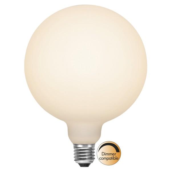 LED DEKO Leuchtmittel - OPAL - soft-touch - E27 - D: 150mm - 6W - 2700K - 610lm - dimmbar