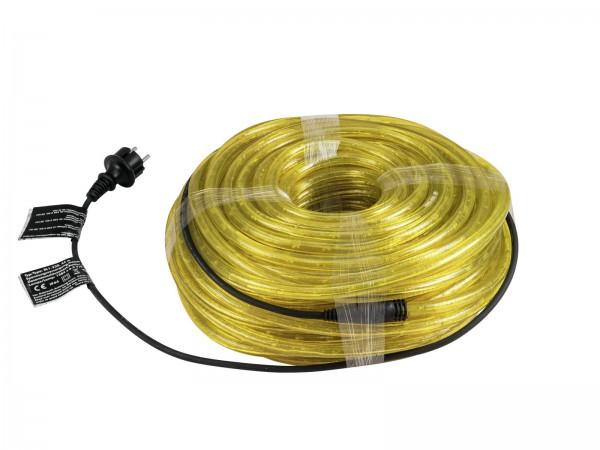 RUBBERLIGHT Lichtschlauch - Outdoor - RL1 -  1584 Lampen - 44m - anschlussfertig - gelb