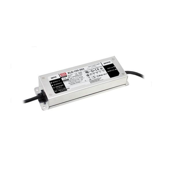 LED Netzteil / Treiber ELG-100-24DA-3Y - Dual Mode - Konstanspannung + Konstantstrom