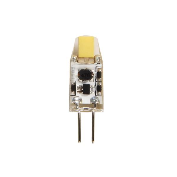LED COB Leuchtmittel Stiftsockel G4 - 12V - 1W - 110lm - 3000K
