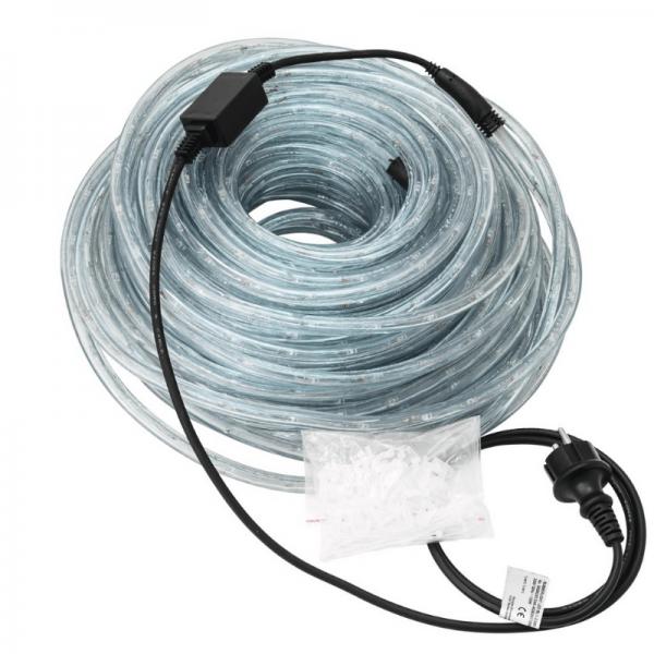 RUBBERLIGHT LED Lichtschlauch - Outdoor - RL1 - 1056 LED - 44m - anschlussfertig - 3000K - weiß